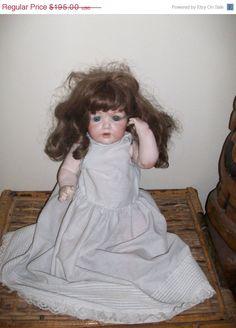 BLOWOUT SALE Germany J.D. Kestner Doll Recently Marked by MICSJWL, $146.25