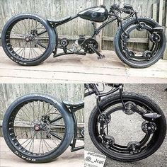Excellent Moto bike photos are available on our site. Take a look and you wont be sorry you did. Custom Choppers, Custom Motorcycles, Custom Bikes, Cruiser Bicycle, Motorized Bicycle, Cool Bicycles, Cool Bikes, Bicycle Store, Motorised Bike