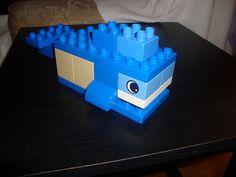Whale in Lego Duplos