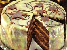 Vánoční dort s pařížskou šlehačkou