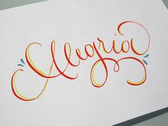 Alegria by Juliana Moore, via Behance