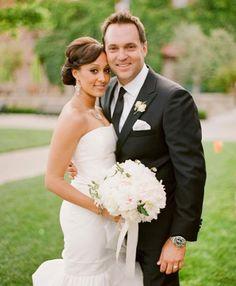 Tamera Mowry married Adam Housley on May 15, 2011 at Villagio Inn and Spa in Napa, California.  Photo: Jose Villa
