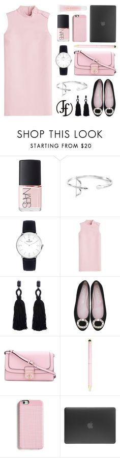 """Friday Style"" by lgb321 ❤ liked on Polyvore featuring NARS Cosmetics, RED Valentino, Oscar de la Renta, Dolce&Gabbana, Wild & Wolf, Marc by Marc Jacobs, Incase and Lancôme"