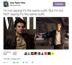 Hmmm... again with the Han Solo parallels !