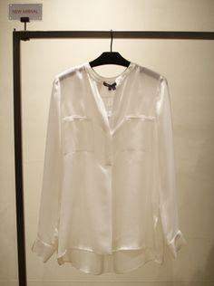 스타일리쉬한 빈스 블라우스. stylish VINCE blouse. @현대백화점