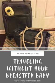 Everything you need to know about traveling without your baby while breastfeeding, from the products you need to pumping to flying with breast milk.