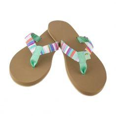 91212dcc0e2c ... Eliza B   Leather Man Ltd. Carnival Mini Fabric Sandal with Lucite No  Peanut Toe on Almond Drifter Sole Carnival