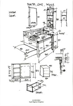 Cheap Home Christmas Decorations Architecture Drawings, Architecture Details, Sketch Bar, Boutique Interior Design, Interior Sketch, Sketch Inspiration, Room Planning, Classic House, Rustic Interiors