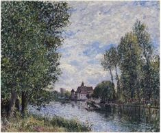 Summer in Moret - Alfred Sisley - The Athenaeum