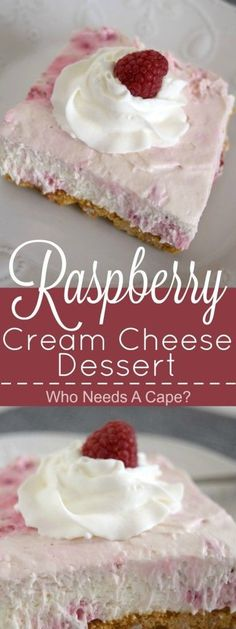Creamy, dreamy and oh so good! This easy Raspberry Cream Cheese Dessert is pract… Creamy, dreamy and oh so good! This easy Raspberry Cream Cheese Dessert is practically no-bake and full of fruity goodness. Oreo Dessert, Coconut Dessert, Dessert Bars, Mini Desserts, Brownie Desserts, Desserts To Make, Easy Cheap Desserts, Good Desserts, Easy Delicious Desserts