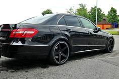 Koko Kuture Sardinia 5 Black With Machined Edge On Mercedes E picture