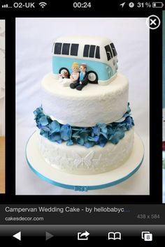 Campervan Wedding Cake - Cake by Natalie King Camper Van Cake, Natalie King, Dream Wedding, Wedding Day, Wedding Things, Modern Cakes, Themed Wedding Cakes, Fashion Cakes, Brides And Bridesmaids