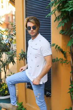 Button Down Shirt, Men Casual, Mens Tops, T Shirt, Fashion, Supreme T Shirt, Moda, Dress Shirt, Tee