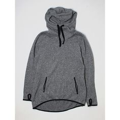 Pre-owned Active by Old Navy Pullover Hoodie ($14) ❤ liked on Polyvore featuring tops, hoodies, grey, gray hoodie, grey hooded sweatshirt, grey hoodies, gray hooded sweatshirt and gray hoodies