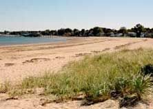 Quincy Shores Reservation -- beach