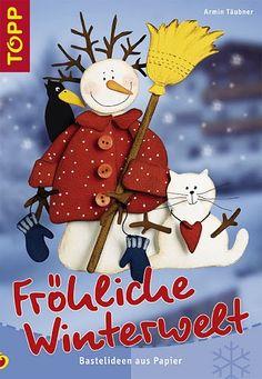 Kreatív tél - Hajnalka Nagyné - Picasa Webalbumok Magazine Crafts, Christmas Cards, Christmas Ornaments, Winter Crafts For Kids, Magazines For Kids, Painted Books, Snowman Crafts, Decoration, Origami