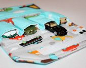 Chevron Car Wallet Toy Car Carrier Car wrap for by 3ButtonsStudio