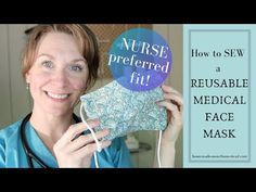 How to sew a reusable face mask with filter pocket// diy fabric face mask // batch sew medical mask. Easy Face Masks, Homemade Face Masks, Diy Face Mask, Handmade Home, Sewing Basics, Sewing For Beginners, Sewing Essentials, Serger Sewing, Pocket Pattern