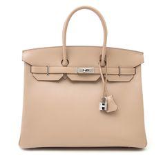 939899dfe3e Hermès birkin 35 Guilloche Tadelakt Argile phw now online at labellov.com