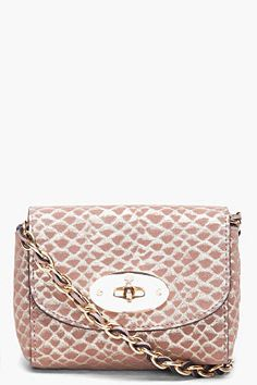 e911201bf729 Mulberry Lily Suede Zigzag Crossbody Bag Embellished With Tassel Chain  Authentic •  429.00. Snake PrintMy BagsMinkMetallicShoulder ...