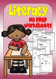 ASD (No PREP)Math & Literacy work sheetsThis 30 page interactive activity work sheet unit helps young learners, to practise literacy and math skills. including:-I can copy lettersI can find words beginning with aI can find words beginning with bI can find words beginning with cI can draw and write about simple shapesI can write and leave spacesMy favourite colour isMy favourite pets ismy favourite toy isI can draw my faceI can writeI can spell