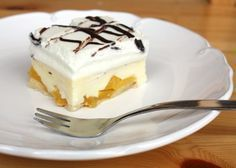 Recept s foto postupom na výborný nepečený koláčik. Keď sa vám občas nechce piecť, tak ako mne, dá sa krásne pohrať so zásobami chladničky, špajze.... No Bake Desserts, Dessert Recipes, Czech Recipes, Nutella, Cheesecake, Deserts, Food And Drink, Gluten Free, Pudding