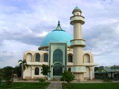 Masjid Agung Baturaja, Sumatera Selatan, Indonesia