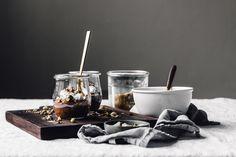 Dessert Dukkah + Raw Chocolate Pudding | Faring Well | #vegan #raw #recipe