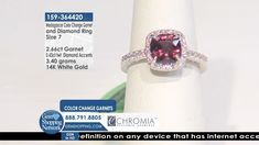Tune into the most exquisite jewelry on television 24/7! New jewelry arriving daily – Blue Sapphire Necklaces, Red Ruby Rings, Green Emerald Earrings, Yellow Diamond Bracelets and more stunning jewelry at Gem Shopping Network. Call in for pricing.   Item #159-364420 Ruby Rings, Garnet Rings, Garnet Gemstone, Gemstone Jewelry, Blue Sapphire Necklace, Emerald Green Earrings, Diamond Bracelets, Diamond Rings, White Gold