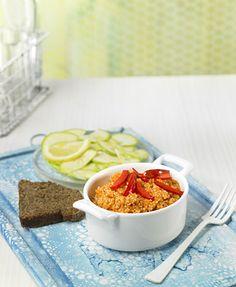 Quinoa con pasta de pimiento rojo, apta para la NUEVA dieta Dukan desde el sábado (comida de feculentos)
