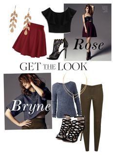 """""""Rose Bryne"""" by theladydynamite ❤ liked on Polyvore featuring Chicwish, Bebe, Tommy Hilfiger, Alice + Olivia, Lana and Irene Neuwirth"""