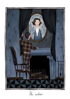 Júlia Sardà - Illustration for The Secret Garden, written by Frances Hodgson Burnett.