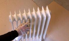 Cómo pintar un radiador