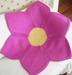 Flower Baby Blanket pattern on Craftsy.com  one day...when my knitting skills are stronger. This is really cute!!