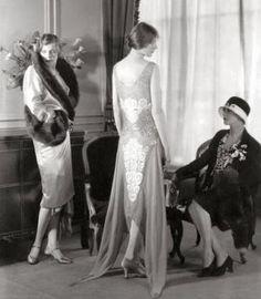 Socialites Modeling Stylish Dresses at Bergdorf Goodman.jpg