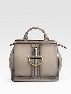 Gucci Duilio Horsebit Top Handle Bag...    $2,800.00