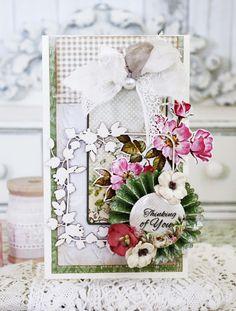 Lemoncraft: Inspiruje Melissa: Dom Róż w stylu shabby - Inspirations from Melissa: House of Roses in shabby style