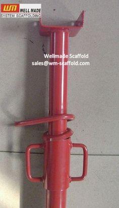 Scaffolding Jacks Adjustable Steel Props Formwork Post Shore Load Capacity Test | China Scaffolding Wellmade Scaffold Co.,LTD | LinkedIn