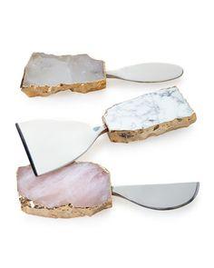 kiva 3 piece cheese set / rab labs / neiman marcus