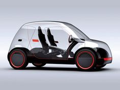 The Moy Concept is a project of a compact car capable of displaying custom graphics and videos through a body made of polycarbonate panels with integrated LCDs and LEDs.