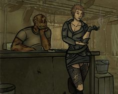 Gob and Nova by MatyChan on DeviantArt