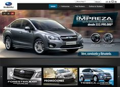 Subaru Colombia - Banner Web  www.subaru.com.co
