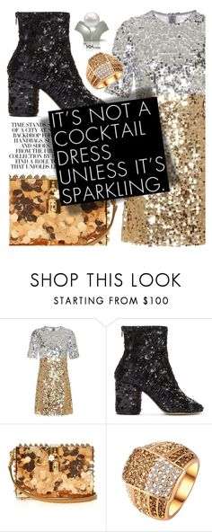 """Sequins!"" by cultofsharon ❤ liked on Polyvore featuring Dolce&Gabbana and Maison Margiela"