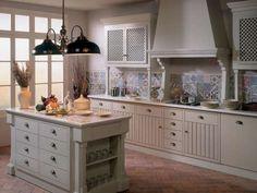 Leading 15 Patchwork Tile Backsplash Designs For Kitchen Spanish Tile Kitchen, Kitchen Wall Tiles, Kitchen Backsplash, Countertop, Real Kitchen, Kitchen Redo, Kitchen Design, Kitchen Living, Living Room