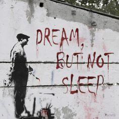 Dream, but not sleep | www.mattelsa.net