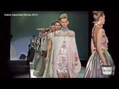 Bellísimo el desfile la Colección Novias 2014 de Isabel Zapardiez con tatuajes y música en directo en la Barcelona Bridal Week.