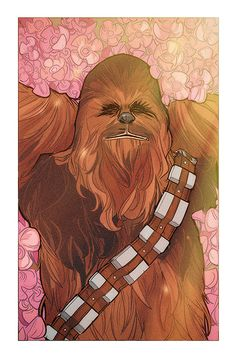 Adult art wookiee what