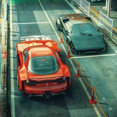 Mazda FD RX7 & Lamborghini Countach