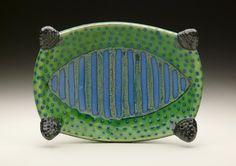 Ronan Peterson green cut bowl