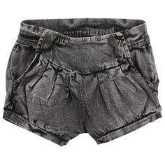 Fish on the Moon_Small Rags Short Girls Black